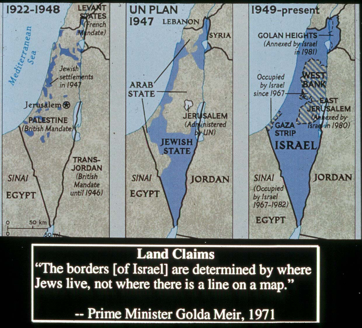 the zionist empire in the occupied territories