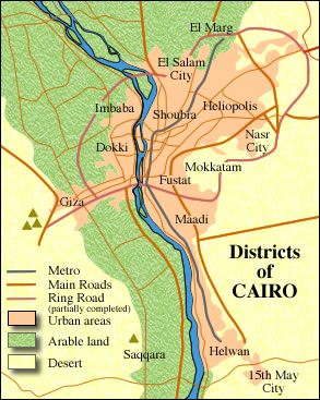 Cairo districts and themes