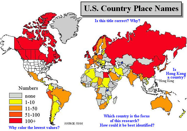 What a college level paper shoul 4 world map of your topic think about each element of the map title legend sources you have already made several maps for this course gumiabroncs Choice Image