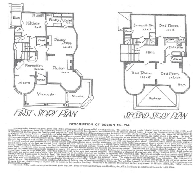 Early 19th Century House Plans House Design Plans