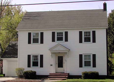 Uwec g367 vogeler new england colonial for New england colonial homes