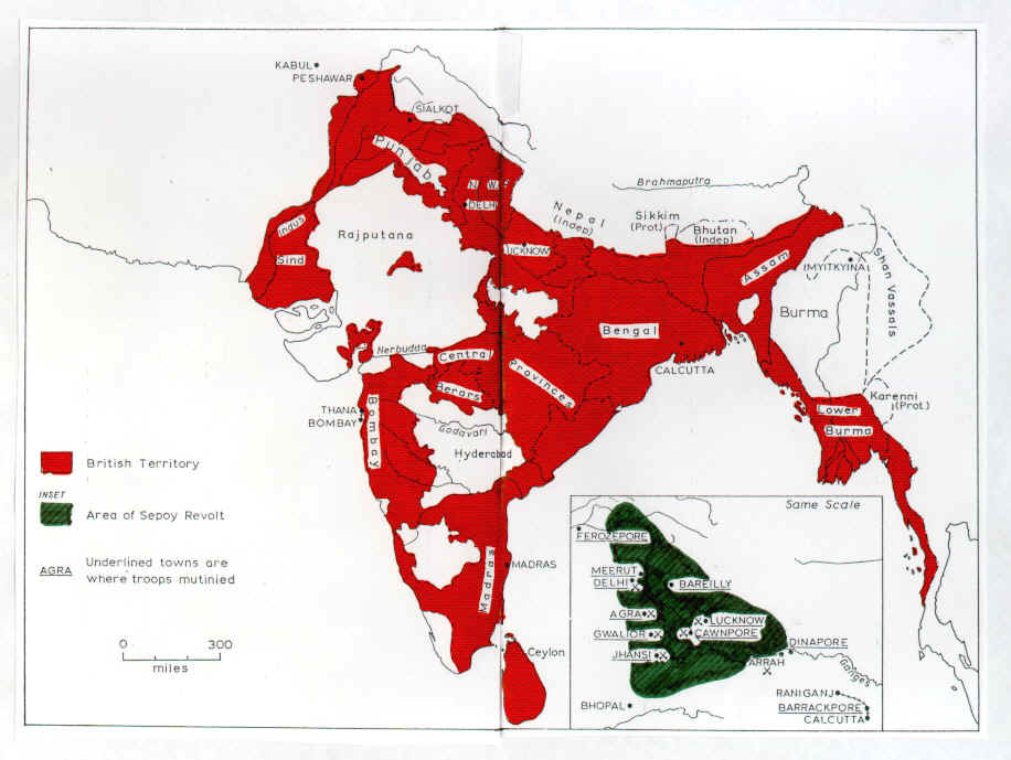 impact of british rule on india during 1857 1867 The british empire had a great impact on india positive impacts include education, introduction to civilisation: architecture, art wiping out nmpotrious gangs.