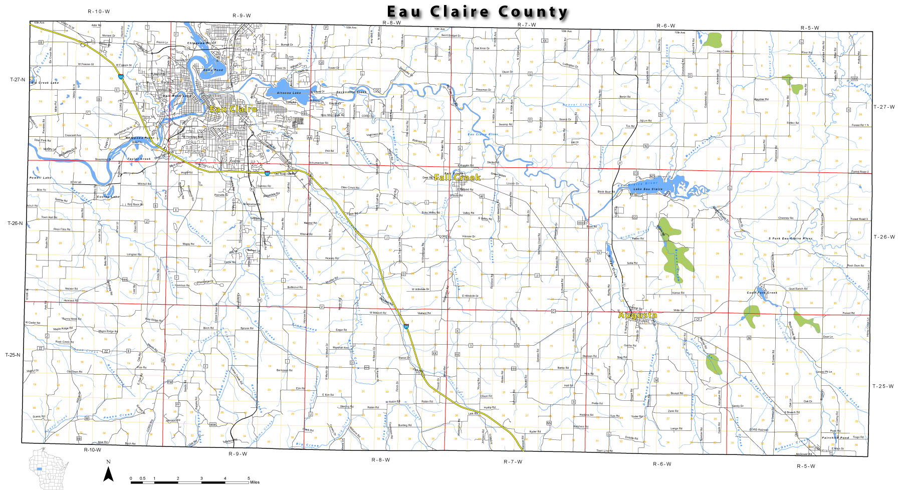 EauClaireCounty Map Of Union Eau Claire County Town on map of arthur, map of brunswick, map of wisconsin river, map of central time zone, map of eau claire area, map of milwaukee, map of racine, map of auburn, map of delmar, map of st. louis, map of superior, map wi county, map of minneapolis, map of prescott, map of stanley, map of beaver dam, map of cleveland, map of oshkosh, map of osceola, map of green bay,