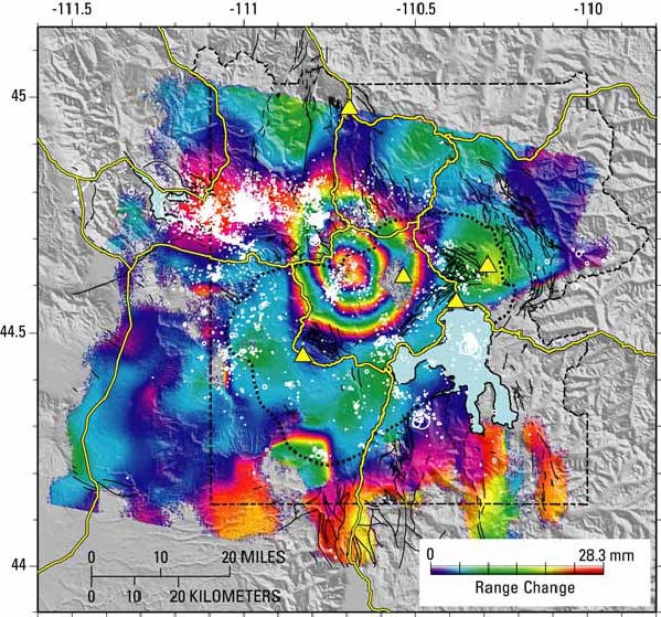 YELLOWSTONE SUPERVOLCANO MAY BE IN EARLY STAGES OF ERUPTION