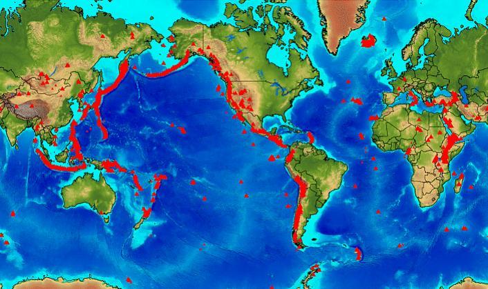 STRANGE WEATHER & HAZARD MAP