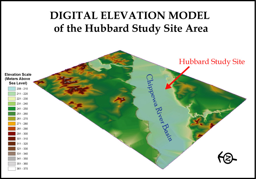 Digital elevation model digital elevation model of the hubbard site gumiabroncs Choice Image